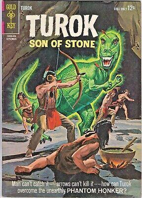 Turok Son Of Stone 41 Gold Key Andar Dinosaurs Painted Cover Art Ebay