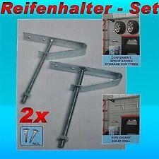 Reifenhalter-Set 2X Wandhalterung Reifenhalterung Reifen Wand Halterung