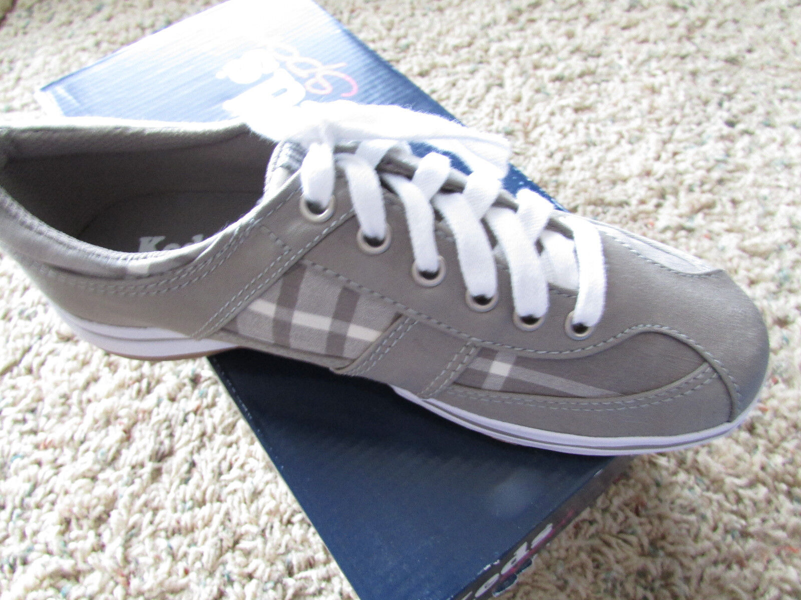 NEW KEDS 5 RAZZLE T-TOE GRAY SHOES WOMENS 5 KEDS SNEAKERS WF42215 SNEAKERS 2634db