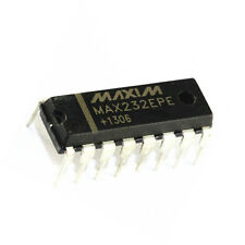 5PCS  IC MAX232CPE MAX232 2DVR//2RCVR RS232 5V 16-DIP  NEW DATE CODE