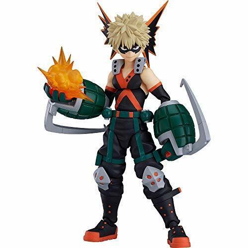 Max Factory figma My Hero Academia Katsuki Bakugo Action Figure w/ NEW Tracking