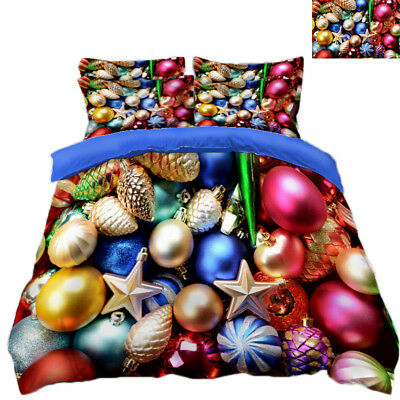 Bettwaren, -wäsche & Matratzen 3d Weihnachten Xmas 6302 Bett Kissenbezüge Steppen Duvet Decken Set Single De Festsetzung Der Preise Nach ProduktqualitäT