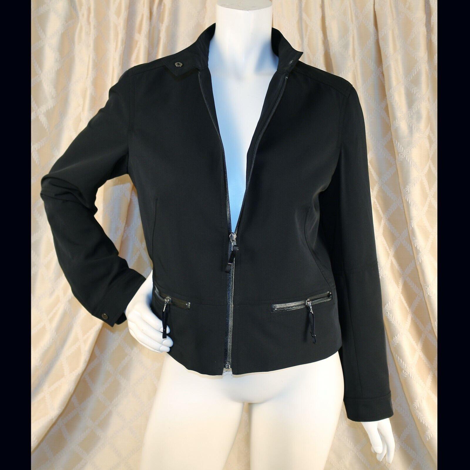 DALIA Mar Negro con Parche  De Codo Mujer Blazer Abrigo Chaqueta  precios mas bajos