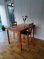 Spisebord mstole, Antik bejdse , Jokkmokk fra