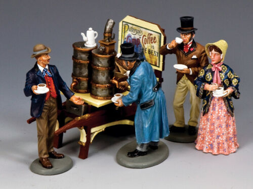 KING & COUNTRY WORLD OF DICKENS WODS01 THE COMPLETE COFFEE COLLECTION MIB