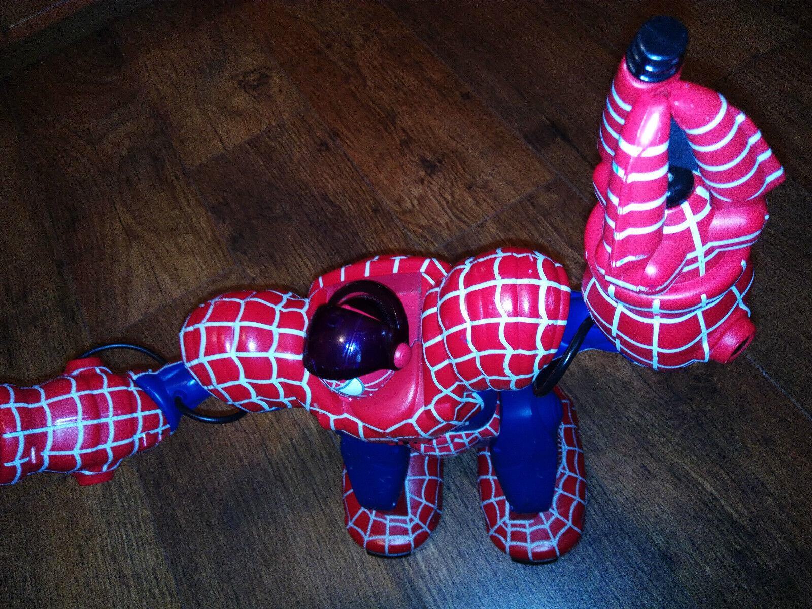 WOWWEE TOY MARVEL SPIDERMAN SPIDERSAPIEN ROBOSAPIEN ROBOT RC REMOTE CONTROL TOY WOWWEE 14
