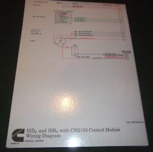 details about cummins isde isbe engine cm2150 control module wiring schematic manual 4021625 24 Cummins Wiring Diagrams