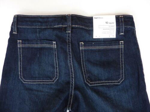 Kids GAP Girls BLUE Denim Flares JEANS Butterfly Flared Trousers 5-14 £22.95
