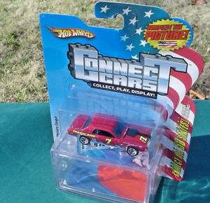 HOT-WHEELS-CONNECT-CARS-50-States-MARYLAND-7-1968-Cougar-NEW-SEALED