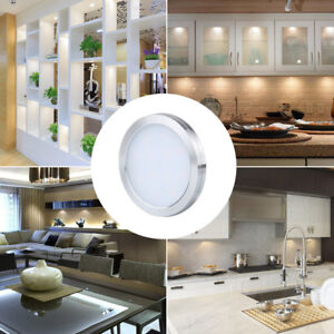 Details about LED 3/6 pack Under Cabinet Lighting Kit 510lm Kitchen Counter  Closet Puck Lights