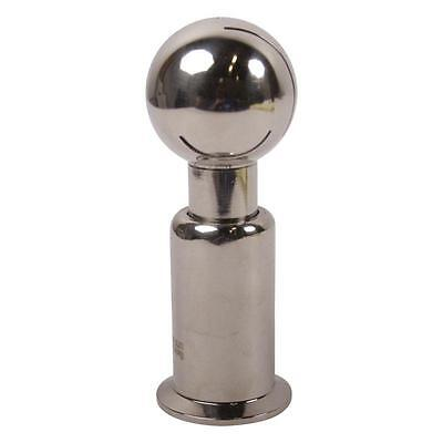 Ball Glacier Tanks - Tri Clamp 1.5 inch w// 2 in 3 Pack Stainless Steel SS304 Rotating CIP Spray Ball
