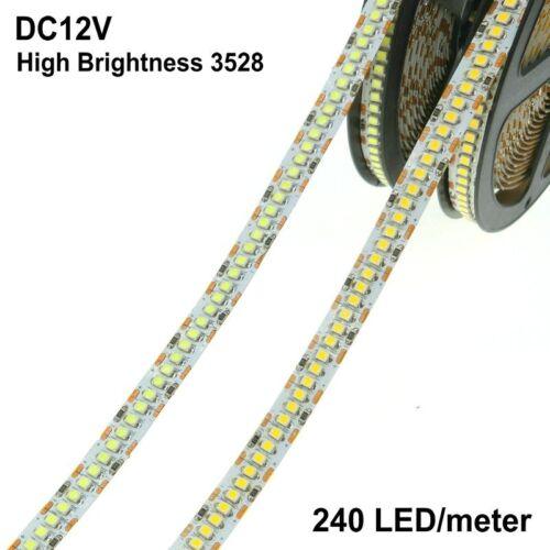 LED Strip 3528 240 LEDs//meter DC12V High Brightness 3528 Flexible LED Light 5m