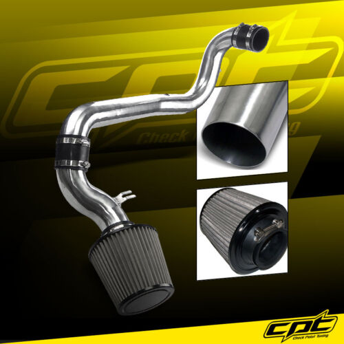 Stainless Steel Air Filter 98-02 Chevy Cavalier 2.2L Polish Cold Air Intake