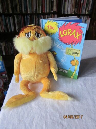 lot of Kohl's Cares LORAX  Dr. Seuss  14 Plush book recycled paper