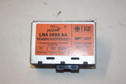 Jaguar XJ x300 unidad de control clave lectura lna2665aa año de fabricación 09//1994-07//1997