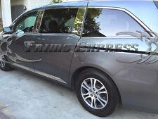 """2011-2017 Honda Odyssey 4Pc Chrome Flat Body Side Molding Trim Insert 2 1/4"""""""