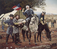 """""""Council of War"""" Don Stivers Civil War Commemorative Edition Giclee Print"""