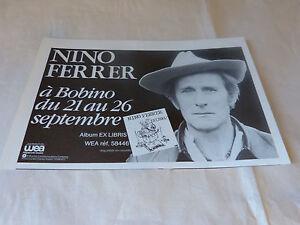 Nino-Ferrer-Piccola-Pubblicita-di-Rivista-Pubblicita-Ex-Libris-a-Bobino