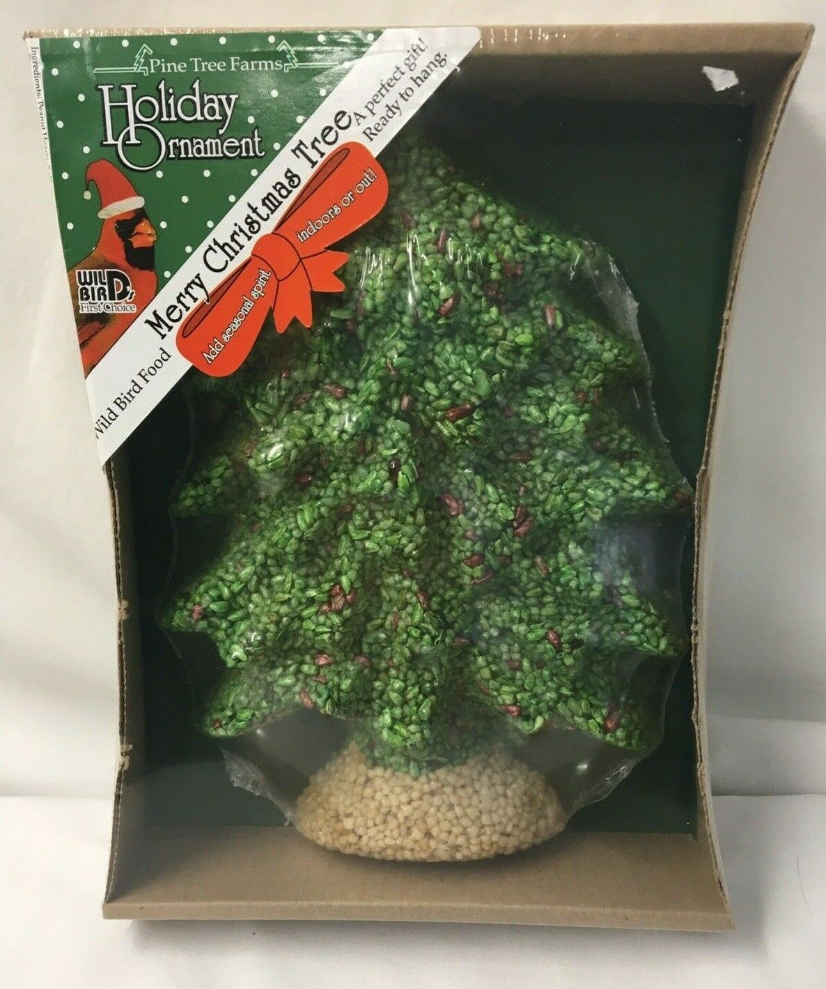 pine tree farms wild bird food merry christmas seed tree hanging 22 oz usa made for sale online ebay