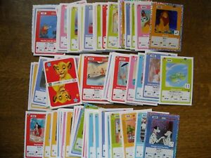 PANINI-LIKE-COMPLETE-SET-OF-120-CARDS-OF-DISNEY