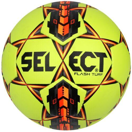 Ballon Select Flash Turf S122590 Taille 4 Football Soccer Fussball