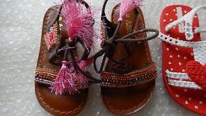 Next Infant Girls Sandal UK Size 6 Girl