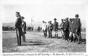 CPA-MAROC-FEZ-12AVRIL-1915-VERITABLE-CARTE-PHOTO-L-039-ARRIVEE-DU-GENERAL-LYAUTEY-LE