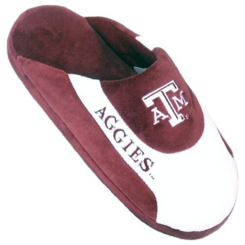 Low Pro Slippers Size Large Brand New With Tag Texas A /& M Aggies Happy Feet