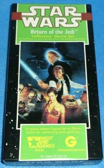 The Emperor Star Wars SW58 25mm West End Game Return of the jedi