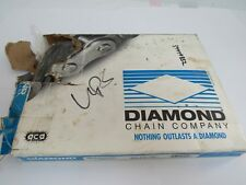 Diamond Chain X-1487066-010 Riveted Steel Chain C 2040 RIV 10FT NEW SEAL