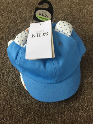Brand New Baby Girl 2 Pack Summer Hats Caps 6-18 Months