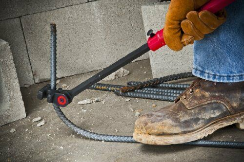 Extendable Indexing Rebar Hickey Bender Angles Leverage Concrete Foundation Tool