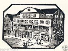 Modehaus Bihler Reutlingen Reklame 1929 Katharinenstrasse Werbung RBR Ad Mode