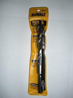 """Drills & Hammers Light Equipment & Tools Loyal Dewalt Dw5244 3/4"""" X 6"""" Rock Carbide Spiral Hammer Drill Bit"""
