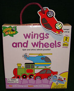 Puzzle-Chimp-and-Zee-Wings-and-Wheels-Ages-3-to-5-Years-4-2-Piece-Puzzles-995