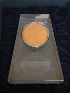 2009-Yankee-Stadium-Steiner-Sports-Inaugural-Season-Game-Used-Dirt-Paper-Weight