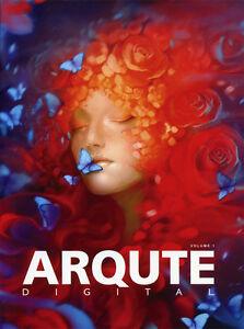 ARQUTE DIGITAL 1 - 1st Edition Illustrated Artbook, CG, 2D, 3D