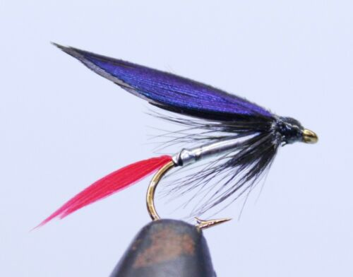 12 WET TROUT SINGLE HOOK FISHING FLIES ASSORTED PATTERNS /& SIZES FROM FLYMAKERS
