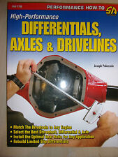 High-Performance Differentials Axles & Drivelines AUTO GUIDE BOOK MANUAL 2009
