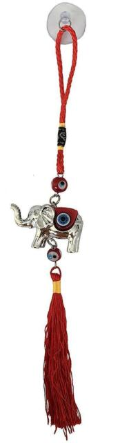 Lucky Evil Eye Wall Hanging Ornament for Protection and Blessing Elephant Charm