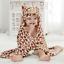 NEW-KIDS-FLEECE-HOODED-BATH-TOWEL-BROWN-COW thumbnail 1