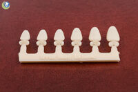 Dental Polycarbonate Temporary Crowns Tooth 7 (url) Upper Right Lateral 6 Sizes