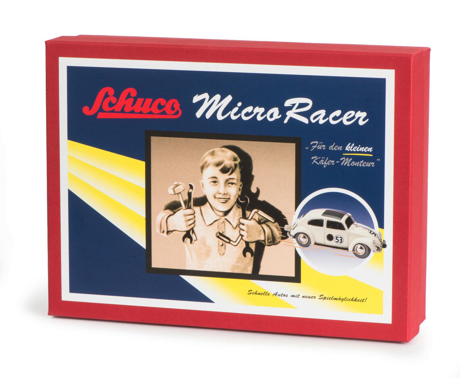 Schuco 450177300 montaggio Micro Racer VW Maggiolino 53 NUOVO OVP