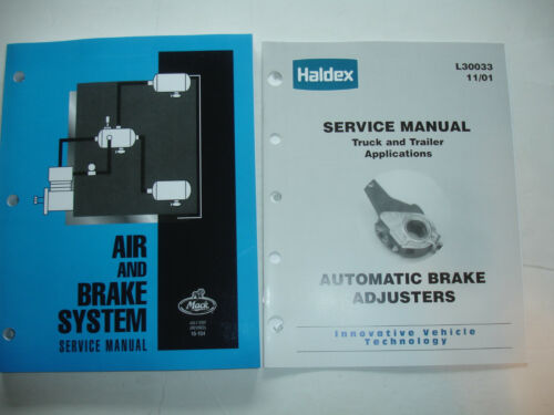 REVISED Mack Trucks Air Brake Brakes System Service Manual Repair Shop 16-104 07
