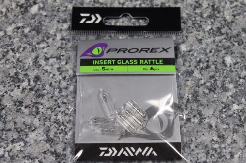 Daiwa Prorex Insert Glass Rattle Glasrasseln Glas Rasseln verschiedene Größen