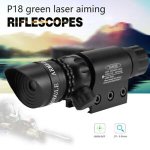 Red-Green-Laser-Sight-Dot-Scope-for-Hunting-Airsoft-Adjustable-Battery-Charger