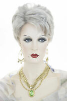 Platinum Blonde Short Straight Wigs