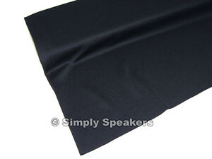 QUALITY-Jet-Black-SPEAKER-GRILL-CLOTH-Stereo-Grille-Acoustic-Fabric-A-569