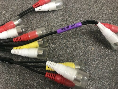 Alpine Iva-D106r Iva-D106r  New Pre Out Rca Sub Harness Lead Wiring Loom