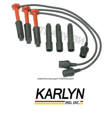For Mercedes W124 R129 W140 Spark Plug Wire SET Ignition Cable Loom Wiring